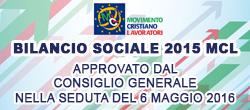 Bilancio Sociale 2015 MCL