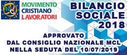 Bilancio Sociale MCL 2018